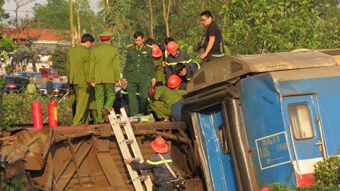 Tang thương những cú đâm kinh hoàng của tàu hỏa