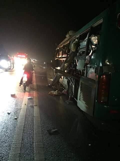 nổ xe khách giường nằm, xe khách nổ ở Bắc Ninh, nổ xe khách, xe khách phát nổ ở Bắc Ninh