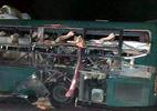 Nổ xe khách giường nằm, 2 người chết, 12 bị thương