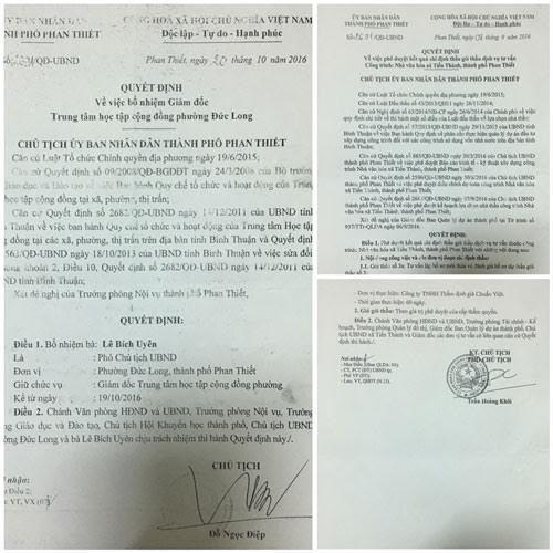 Bình Thuận, đoàn kiểm tra, vụ 2 con dấu, UBND TP Phan Thiết