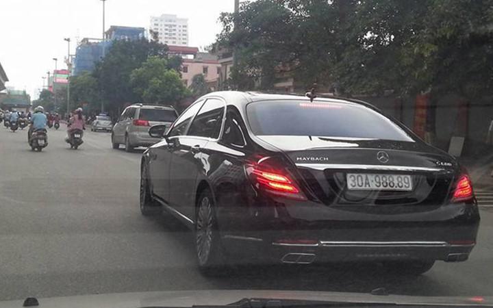 Mercedes-Maybach S600, biển số, xe sang, đại gia, xe ô tô, ô tô