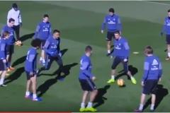 Marcelo sướng phát điên vì đồng đội chơi xỏ Ronaldo