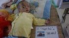 Xót thương cháu bé 5 tuổi nặng chưa đầy 4kg