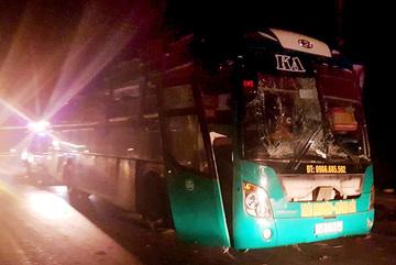 Toàn cảnh vụ nổ xe khách giường nằm ở Bắc Ninh