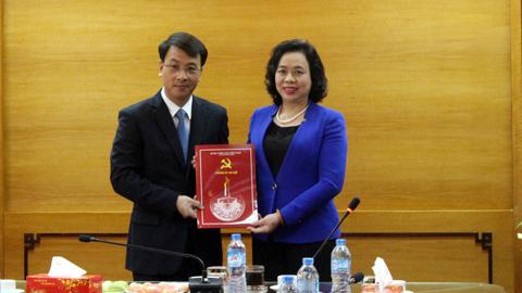 Hà Nội có Phó ban Tổ chức Thành ủy mới
