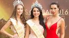 Hà Anh gợi cảm lấn át Hoa hậu và Á hậu Toàn cầu 2016