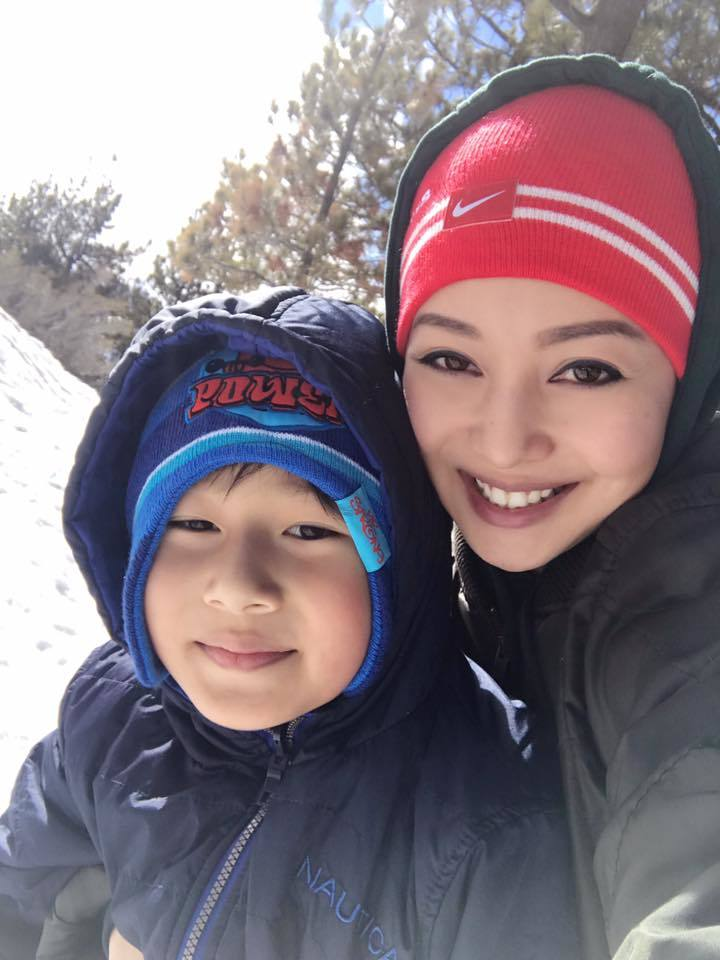 Jennifer Phạm, núi tuyết, Mỹ, nuôi con