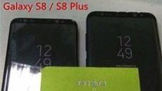 Lộ ảnh thực chụp Galaxy S8, S8 Plus đặt cạnh nhau