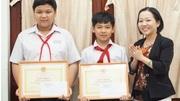 Bộ Giáo dục tuyên dương 3 học sinh bắt cướp, cứu người bị nạn