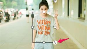 Hướng dẫn ghép ảnh avatar theo trào lưu 'Vịt Lộn, Vịt Dữa, Cút Lộn'