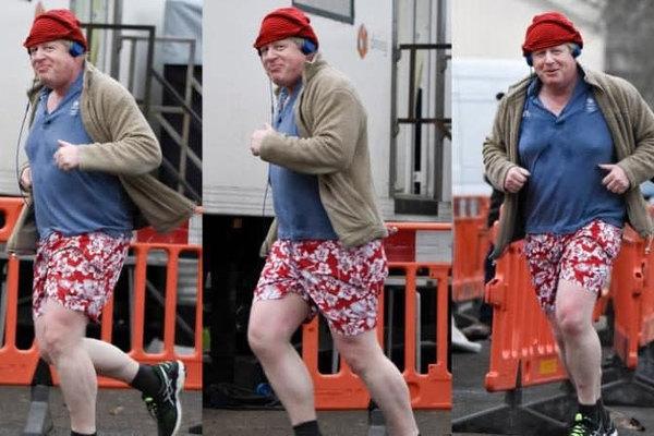 Chiếc quần đùi hoa của Ngoại trưởng Anh khiến báo giới 'nổi sóng'