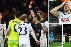 Dele Alli bị đuổi, Tottenham bật bãi khỏi Europa League