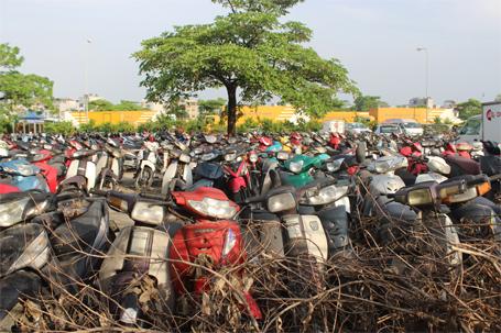xe máy, thu hồi, cấm xe máy, Hà Nội, khai tử xe máy, ô tô