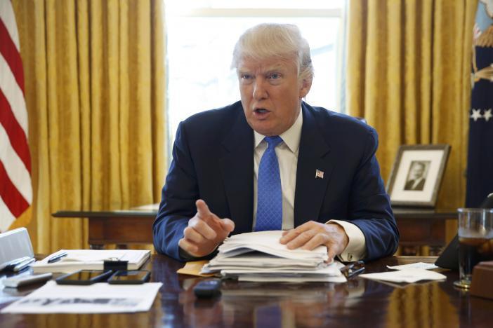 Donald Trump, Tổng thống Mỹ, Tổng thống Nga, Vladimir Putin, vũ khí hạt nhân