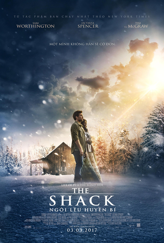 The Shack, Sam Worthington, Octavia Spencer, ngôi lều huyền bí