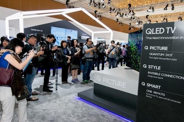 QLED TV được đánh giá cao tại SEAO Forum 2017