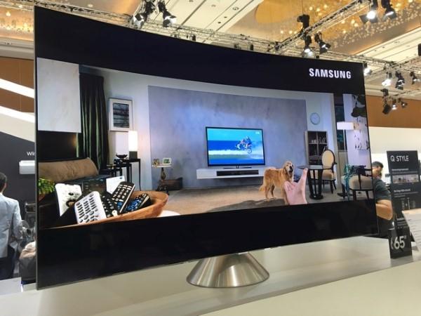 QLED TV, màn hình cong,
