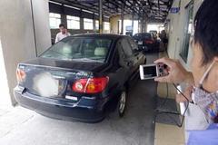 """Hàng nghìn ô tô bị """"treo"""" đăng kiểm vì chưa nộp phạt giao thông"""