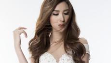 Kiều nữ The Face gợi cảm với đầm ren trắng xuyên thấu