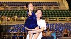 Vợ cũ Lâm Vinh Hải đưa con gái đi sự kiện giữa ồn ào ly hôn