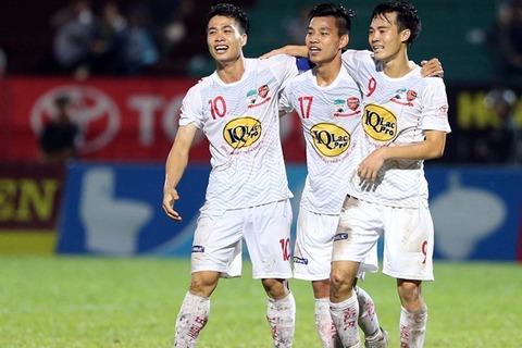 Long An 0-2 HAGL Văn Thanh goal 90+2