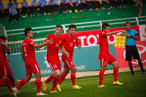 TP Hồ Chí Minh 1-0 Cần Thơ