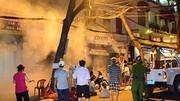 Cháy lớn trong đêm, 4 người trong gia đình tử vong