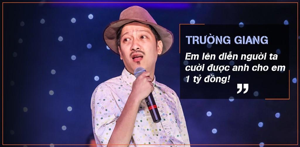 gamshow, Tùng Dương, Trường Giang, Tấn Beo, Hữu Châu, Sao Việt