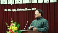 Bách khoa toàn thư của người Việt Nam đang khởi động