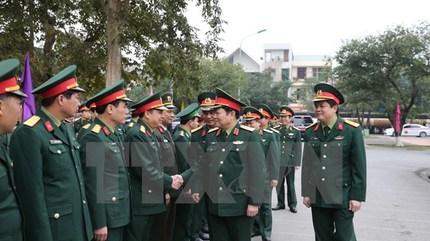 Bộ trưởng Quốc phòng làm việc với Quân khu 4 và Nghệ An