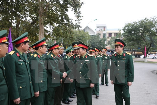 Bộ trưởng Quốc phòng, Đại tướng Ngô Xuân Lịch, Quân khu 4