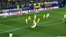 """Video tình huống trọng tài """"tặng"""" penalty cho Real Madrid"""