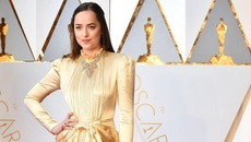 Kiều nữ '50 sắc thái' mặc kín như bưng tới Oscar