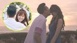 Trấn Thành hạnh phúc ôm hôn Hari Won say đắm bên bờ biển