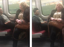 Độc chiêu trị kẻ thích gác chân lên ghế người khác trên tàu