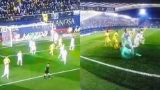 Bale dùng tiểu xảo phạm lỗi với Navas để giải cứu Real