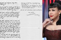 Việt Hương viết thư tay cúi đầu xin lỗi sau khi bị tố diễn thô thiển