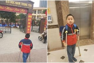 Ngày đầu trở lại trường của học sinh vụ tai nạn ở Trường Nam Trung Yên