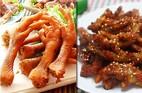 Chân gà nướng phong cách Hàn Quốc