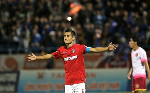 Clip siêu phẩm của Vũ Minh Tuấn ghi vào lưới Sài Gòn FC: