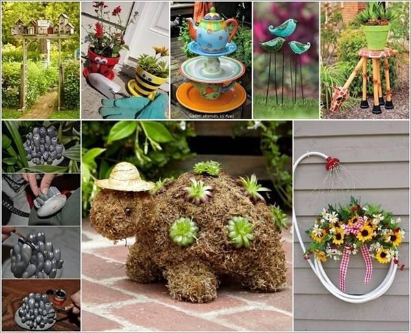 Những ý tưởng siêu 'độc' tạo điểm nhấn cho khu vườn của bạn