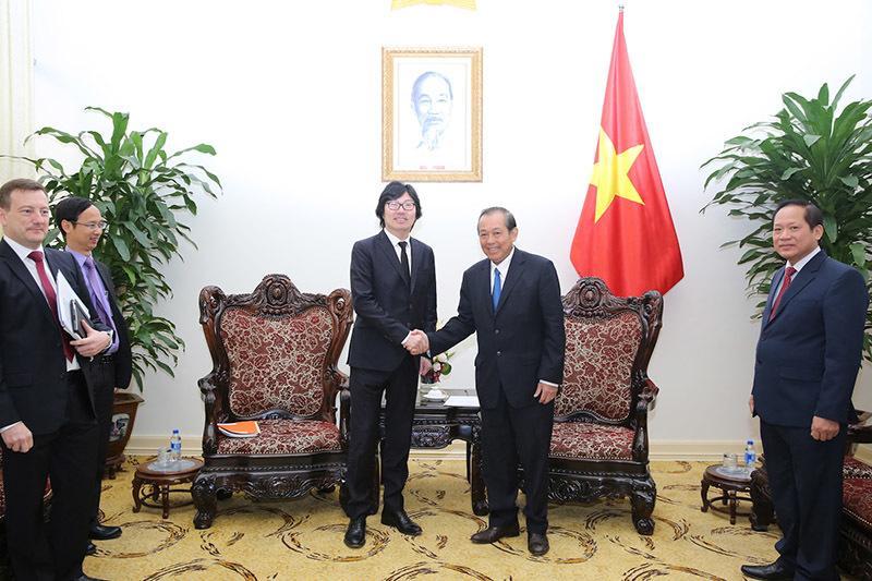 Phó Thủ tướng thường trực tiếp Quốc vụ khanh Pháp