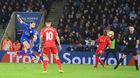 Sao Leicester volley thành bàn đỉnh nhất vòng 26 Ngoại hạng Anh