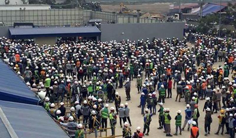 Samsung VN lên tiếng vụ hàng nghìn công nhân 'quây' công ty