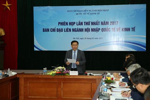 Hội nhập quốc tế, cộng đồng asean, phó thủ tướng vương đình huệ, xuất khẩu, hiệp định thương mại tự do