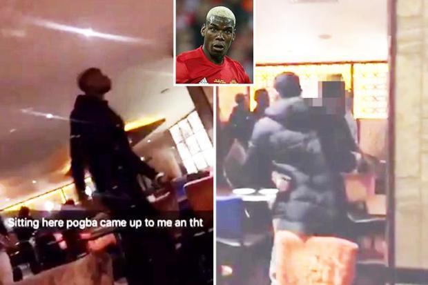 Từ chối ký tặng fan MU, Pogba suýt bị đánh hội đồng