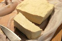 Bắt quả tang dùng bột thạch cao chế biến đậu phụ