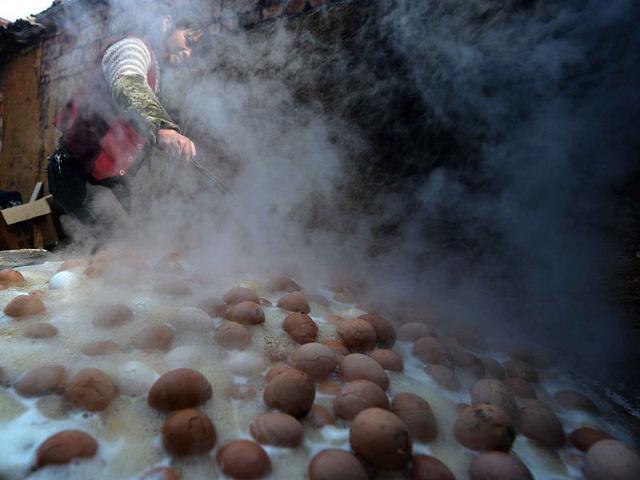 trứng gà, Trung Quốc, di sản phi vật thể, Triết Giang