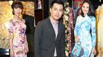HH Hương Giang mặc áo dài 'đọ sắc' với MC Trác Thúy Miêu