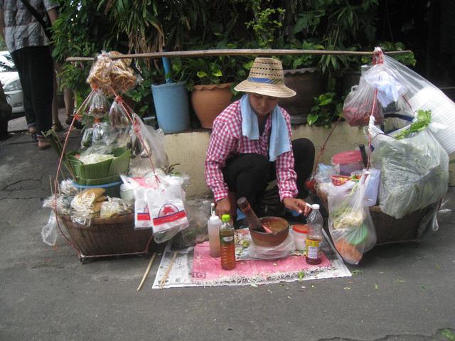 gỏi đu đủ, Thái Lan, ẩm thực, món ngon, du lịch, khám phá